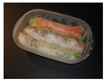 spring rolls, asian cuisine, supper, homemade, dinner, Mudd Lavoie
