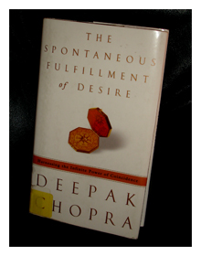 Deepak Chopra's The Spontaneous Fulfillment of Desire, book, read, reading, library, Mudd Lavoie