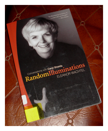 book, library, Random Illuminations Conversations with Carol Shields, Eleanor Wachtel, read, reading, Mudd Lavoie