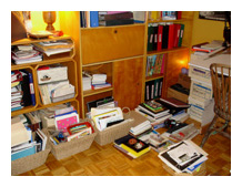 office documents papers organization Mudd Lavoie