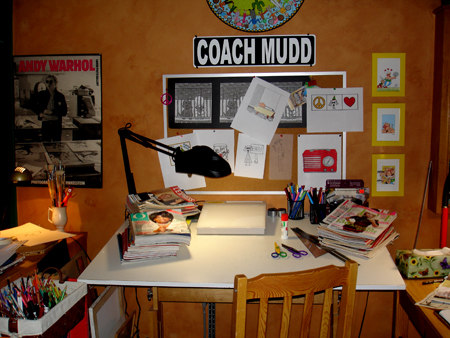 drawing table Mudd Lavoie